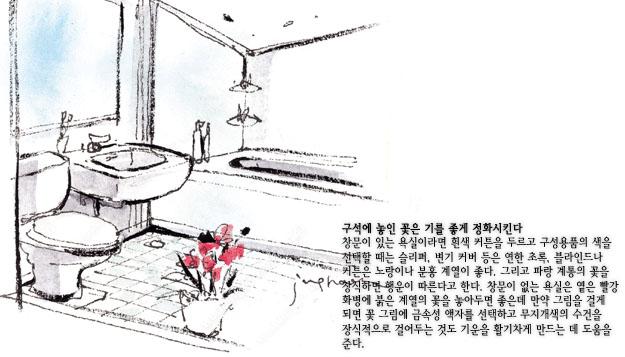 욕실 풍수인테리어 행운을 부르는 풍수 인테리어 비법 및 영상