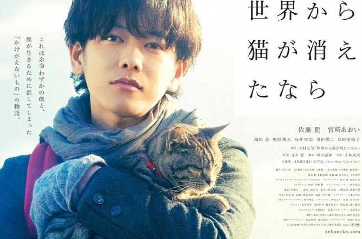 thumb japan movie cat 740x490 일본영화 세상에서 고양이가 사라진다면 (2016)   미야자키 아오이,사토 타케루