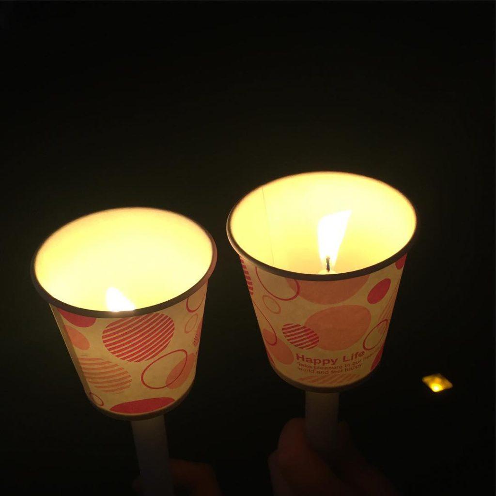 candle korea 1024x1024 늦게가서 아쉬운 광화문 촛불집회 @ 세종대왕님앞