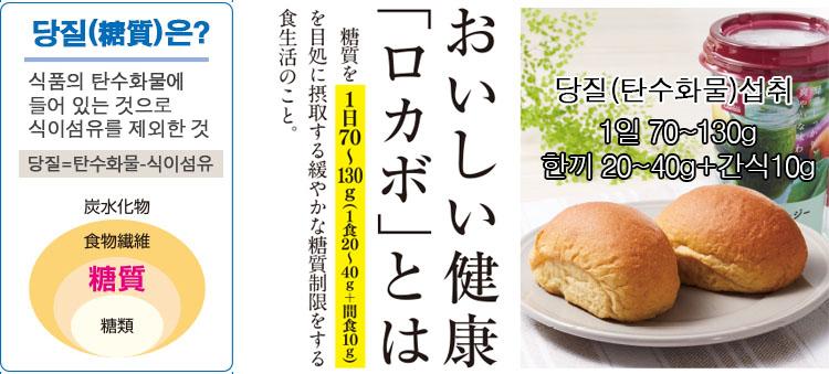 1일 섭취 탄수화물 일본 당질제한식 다이어트 붐! 저당질 식품시장 확대
