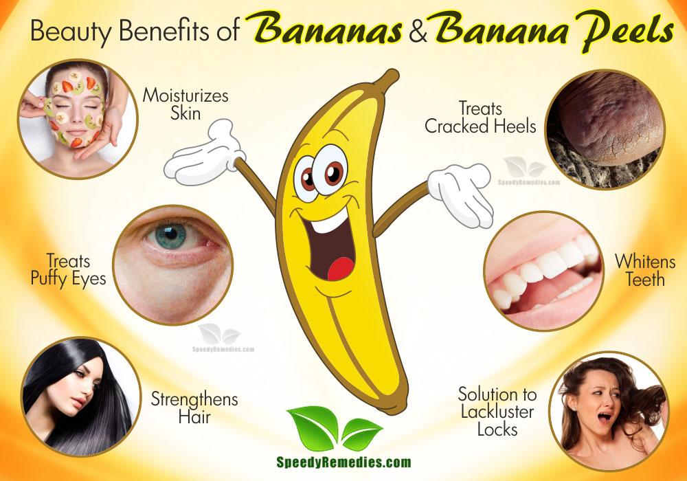 banana benefits 놀라운 바나나 껍질의 효과. 미용, 건강을 위한 바나나 활용법