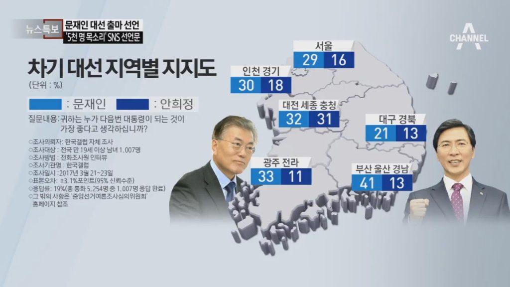 korea president election 1024x576 19대 대통령 선거 지지율 부동의 1위, 문재인 출마선언 전문