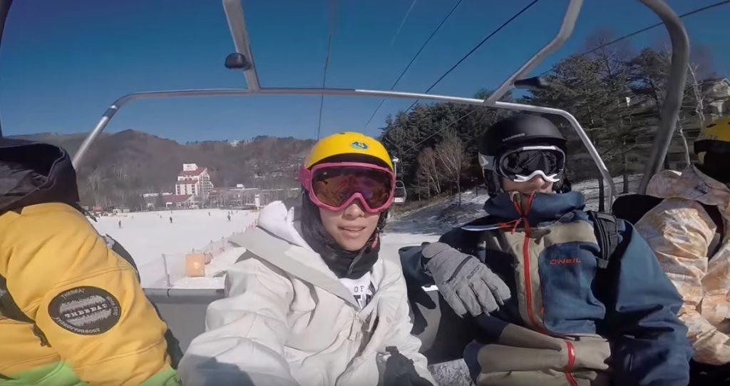 snowboarding pyeongchang 1024x541 첫 한국방문 미국 유튜버 구글 코리아 방문, 평창 스노보드 브이로그