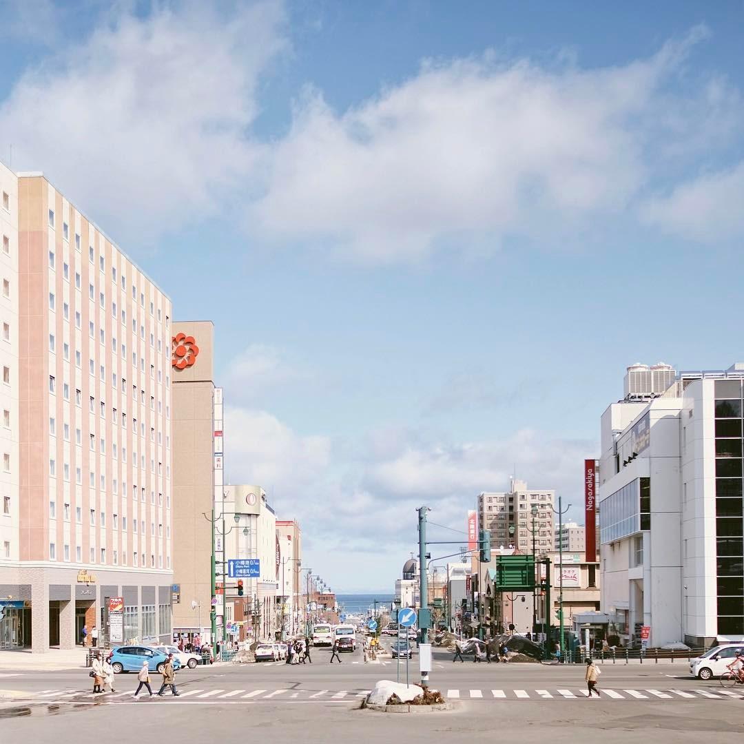 17333344 732614013574698 1202778258072928256 n 영화 러브레터 속으로. 홋카이도 오타루역 앞 풍경과 언덕길