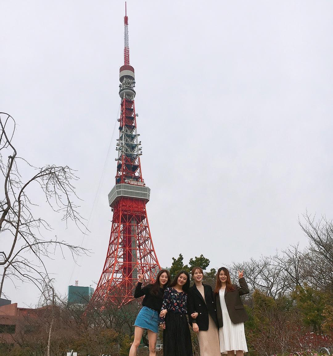 17439147 1379678658781633 6835308870965919744 n 도쿄타워 배경의 미녀 4인방, 도쿄 원피스 타워