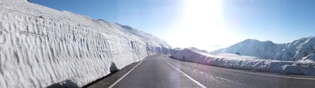 Tateyama Kurobe Alpine Route 1024x288 일본 북알프스의 눈계곡, 다테야마 구로베 알펜루트 개통