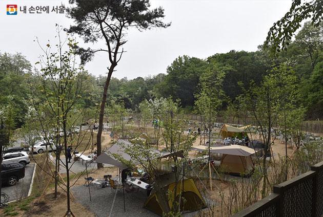 seoul camping3 서울 시내 공원 및 캠핑정보! 초안산 캠핑장 개장