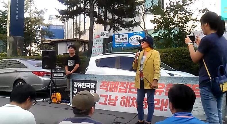 자유한국당 규탄집회 핵사이다 (직캠)자유한국당 규탄집회 핵사이다 자유 발언 2인
