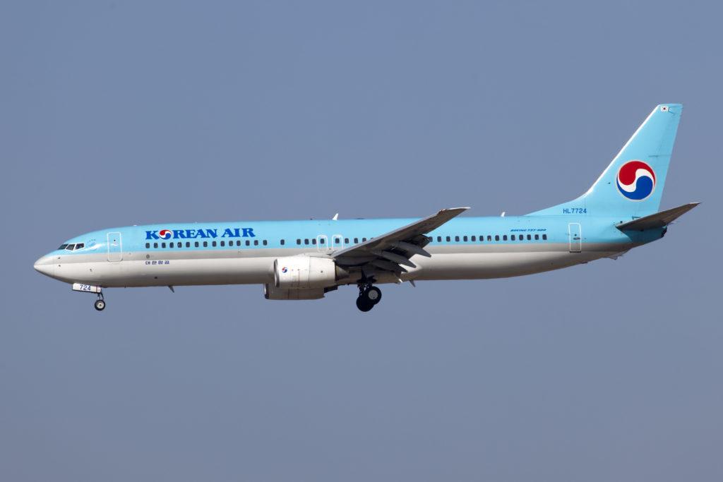 B737 900 Korean Air 1024x683 대한항공 SOS 조종실에 연기? 후쿠오카 공항 착륙