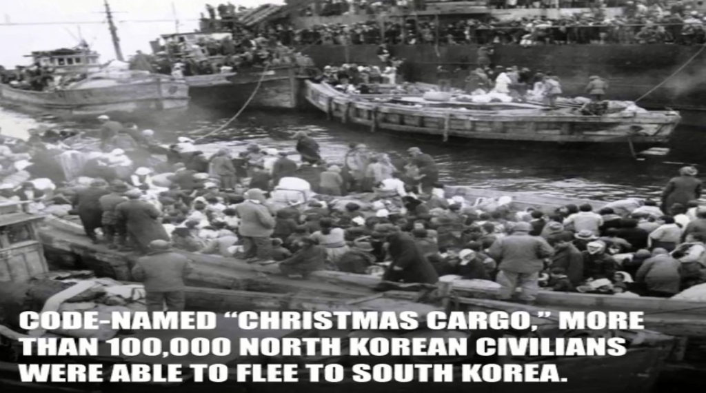 christmas cargo 1024x570 한국전쟁 희망의 크리스마스 항해! 흥남철수작전(Christmas Cargo)