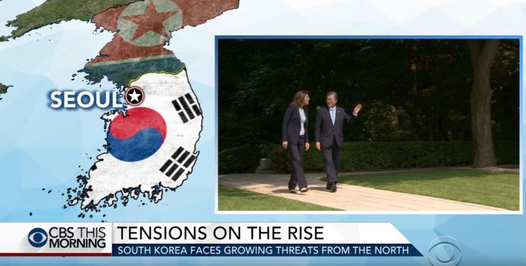 interview with President Moon Jae in 1024x517 문재인 대통령 미국 CBS인터뷰 전문과 영상