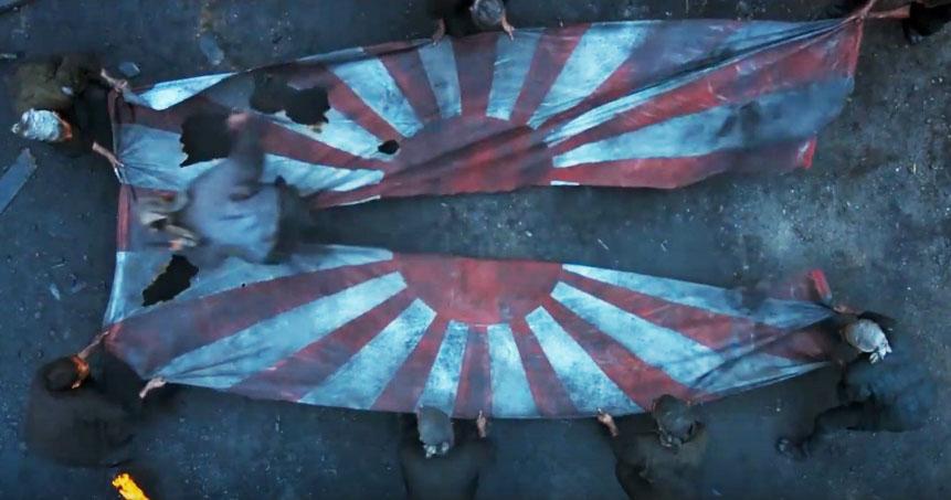 japan flag 일본, 영화 군함도에 시비! 예고편 및 일본반응