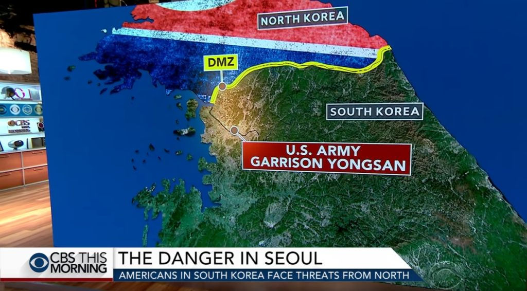 korea dmz 1024x566 문재인 대통령 미국 CBS인터뷰 전문과 영상