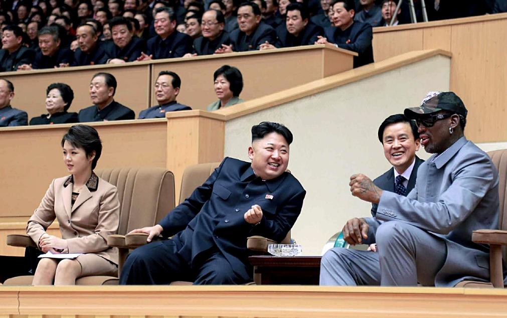 nba northkorea 미국 NBA 농구스타 데니스 로드먼 북한 방문