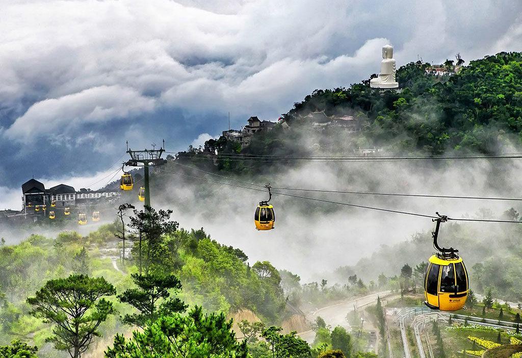 베트남 다낭 바나힐 케이블카 1024x702 베트남 다낭 바나힐(BaNa Hills) 테마파크