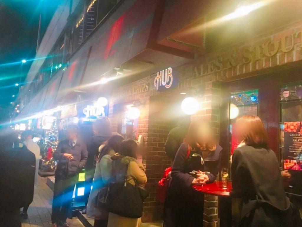ginza hub 1024x768 일본 남파(난파)의 날! 일본녀 꼬시기, 도쿄 길거리 헌팅의 성지