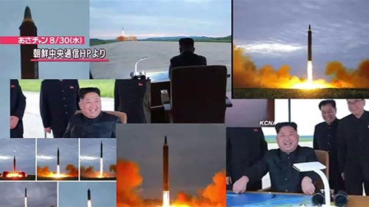 북한 화성 12형 탄도미사일 발사 북한 화성 12형 탄도미사일 발사 영상 공개! 트럼프의 언동 주시