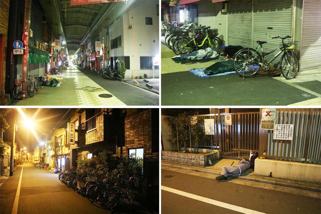 도쿄 산야의 밤거리 1024x683 도쿄 산야(山谷) 도시빈민가와 일본의 3대 빈민거리