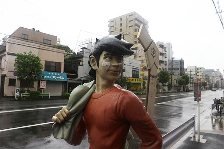 만화 내일의 죠 무대 도쿄 산야(山谷) 도시빈민가와 일본의 3대 빈민거리