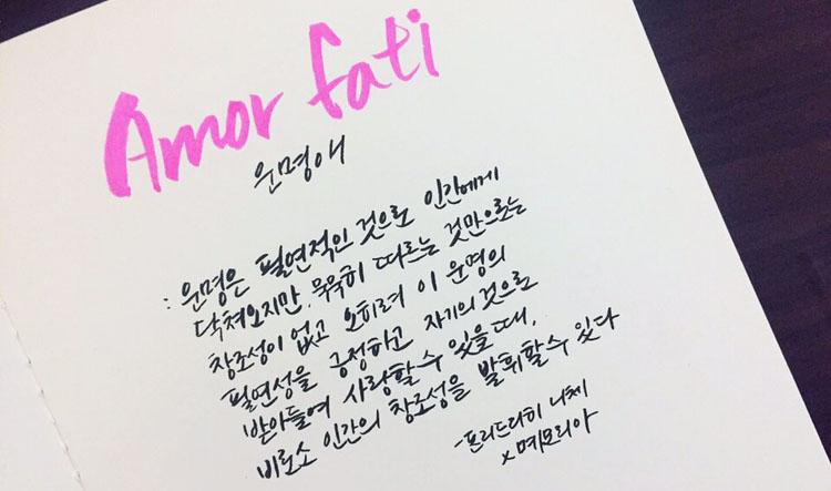 아모르 파티 트로트 가수 김연자 아모르 파티(Amor Fati)의 뜻은? 일본엔카 신곡