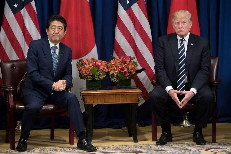 트럼프 아베 회담 트럼프, 문재인 대통령 정상회담! 개탄스럽다(deplorable) 표현에 반색