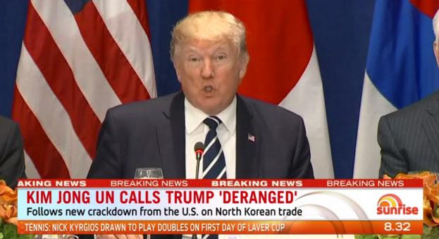trump deranged 트럼프의 북한 파괴 발언에 김정은 성명 발표! 초강경대응조치 천명