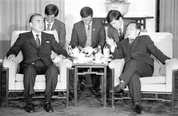 나카소네 일본총리 중일수교 나카소네 일본총리가 한중 국교정상화에 중간역할