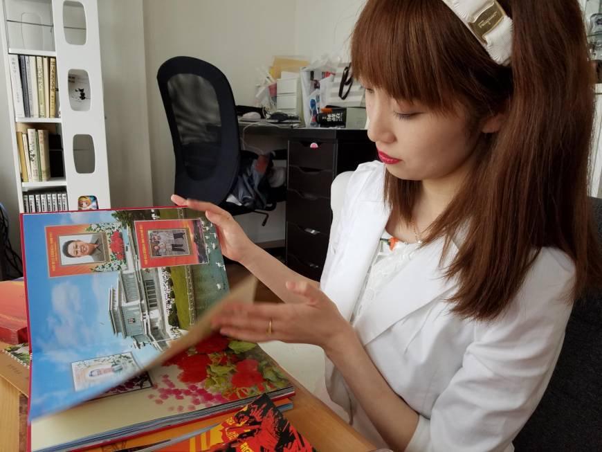 북한문화를 즐기는 일본여성 일본의 북한 팬클럽 선군여자의 모란봉악단 코스프레