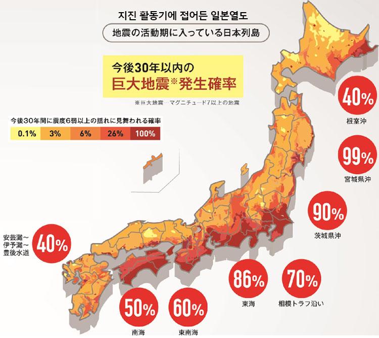 일본지진 활동기 일본지진 2000회 이상! 대지진 발생 시기는?