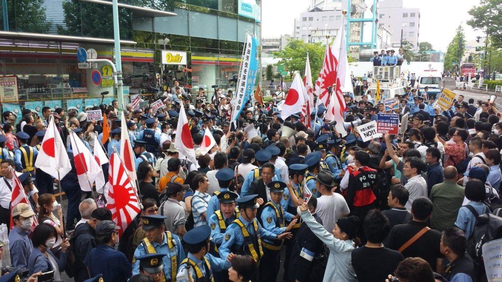 일본 극우혐한단체의 인종차별 증오발언 1024x576 인종차별 헤이트스피치 관련 일본정부의 여론조사 결과