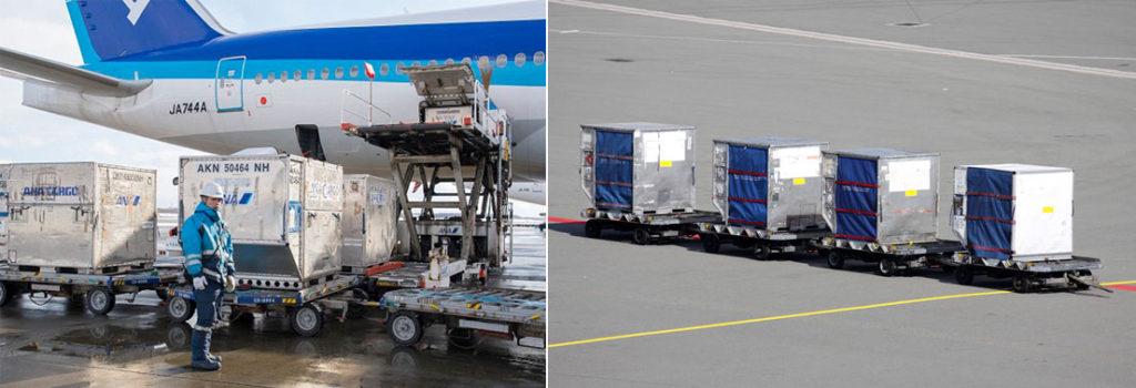항공기 수하물 컨테이너 1024x350 비행기에서 내려 수하물 빨리 찾는 팁! 진짜일까?