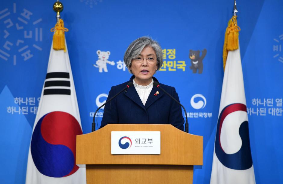 강경화 장관 한일위안부 합의 강경화 장관 한일 위안부합의, 일본에 재협상 요구 않겠다