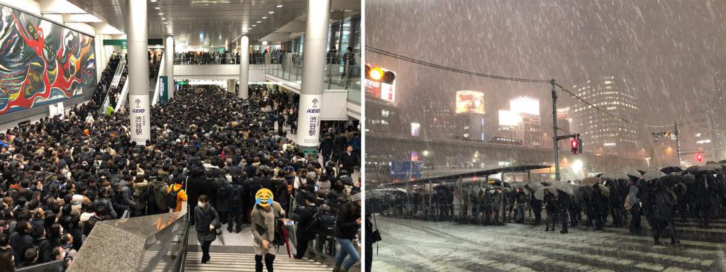 도쿄 폭설 1024x384 도쿄 4년만의 폭설로 교통마비! 나리타공항 폐쇄
