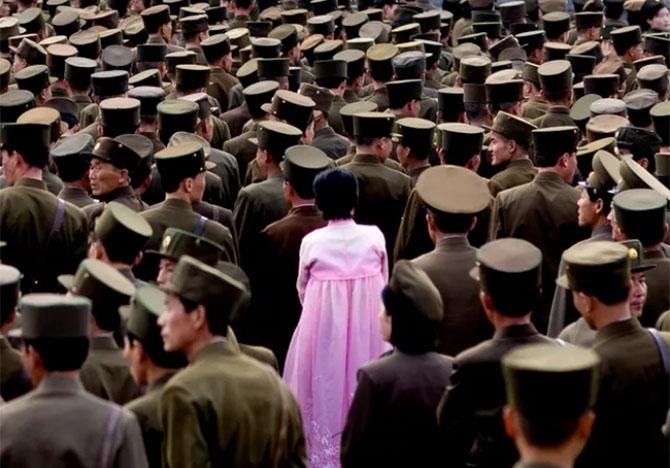 북한사진1 촬영이 금지된 북한풍경을 찍은 여행 사진작가의 작품