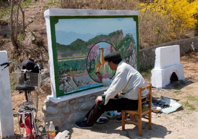 북한사진5 촬영이 금지된 북한풍경을 찍은 여행 사진작가의 작품