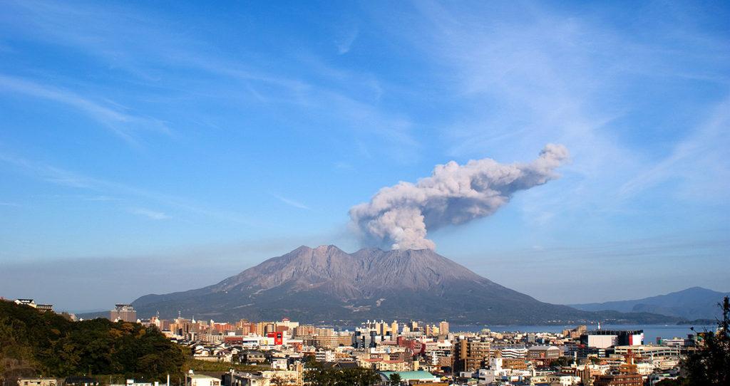 사쿠라지마 화산 분화 1024x542 일본 기상청 12월 지진활동 및 활화산 상황 발표