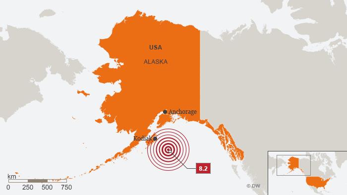 알래스카 대지진 미국 알래스카 앞바다에서 대지진 발생! 쓰나미 경보