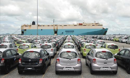 일본자동차수출 일본의 무역수지 2년 연속 흑자기록! 한국에 자동차수출 증가