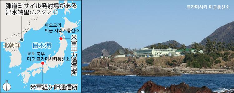일본 미군 레이더기지 미국의 요격미사일 이지스어쇼어 실험시설 방문한 일본