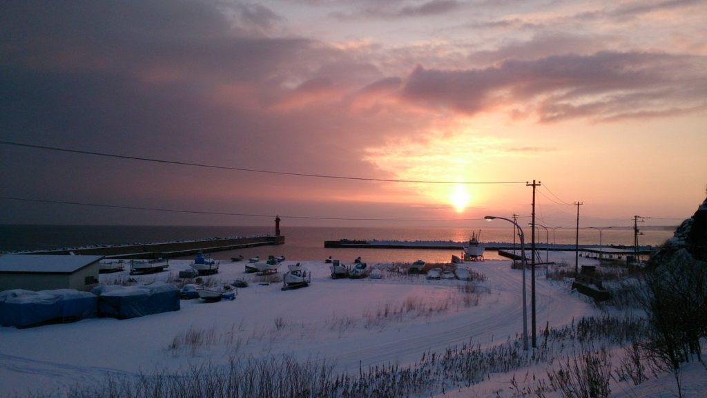 홋카이도 이시바리 유빙 1024x576 홋카이도 오호츠크 아바시리에서 첫 유빙관측