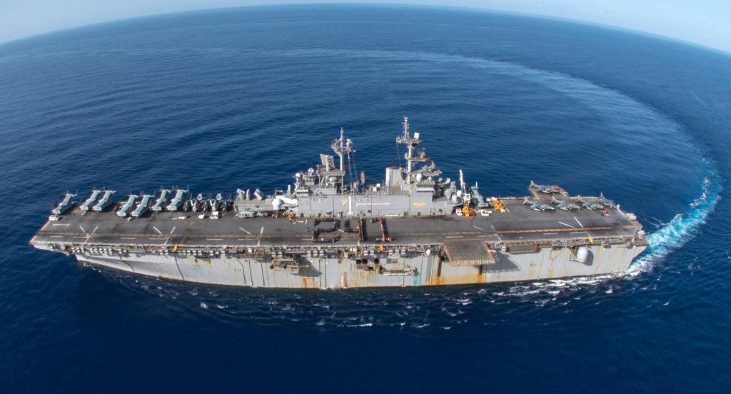 Wasp LHD 1 1024x552 미 해군 사세보 기지에 강습상륙함 와스프(LHD 1) 배치