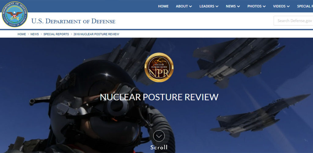 미국의 신 핵전략 1024x502 미국 저강도핵무기 개발! 핵태세 검토보고서 전문