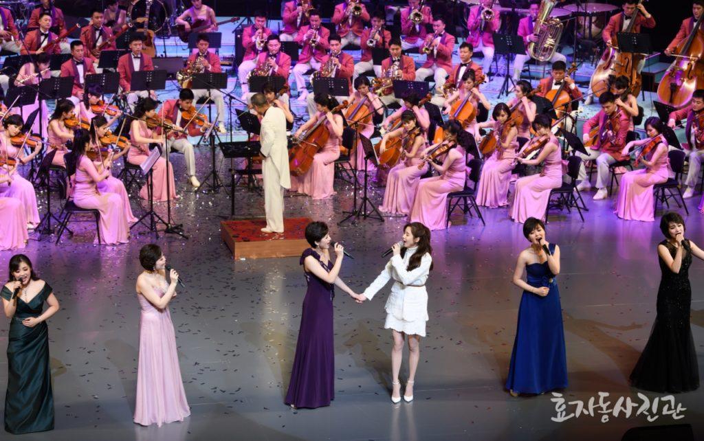 %name 북한 예술단과 서현의 다시 만납시다! 이미자의 2002년 평양공연