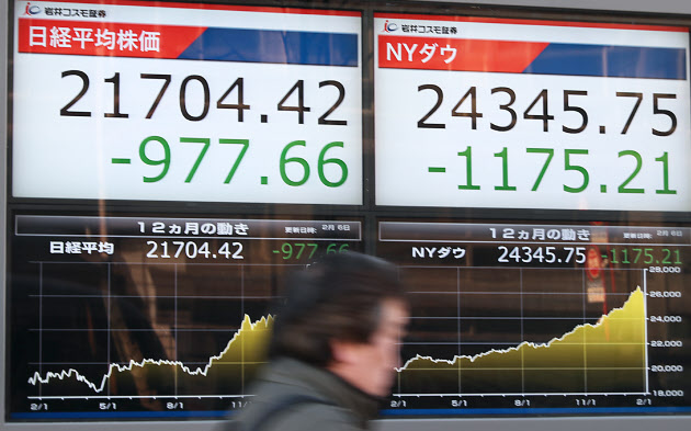 일본주가하락 엔환율급등 증시폭락에 원·엔 환율 급등! 엔화 1천원 돌파