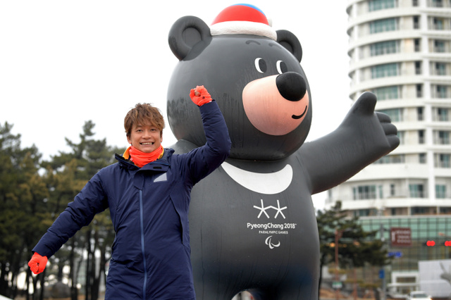 평창패럴림픽 카토리싱고 SMAP의 카토리 싱고 평창 패럴림픽 중계