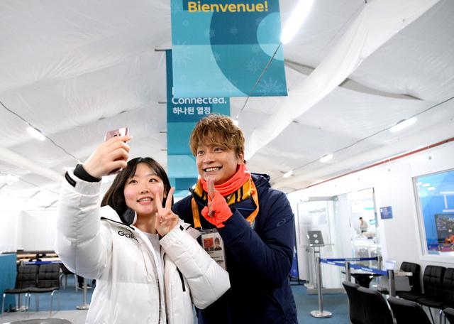 평창패럴림픽 SMAP의 카토리 싱고 평창 패럴림픽 중계