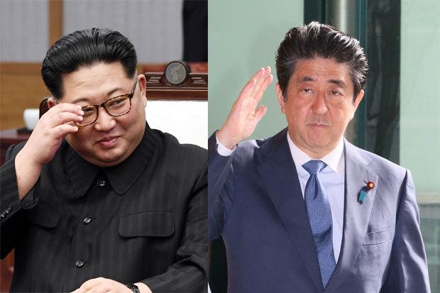 김정은 아베 일본과 대화할 용의 있어..남북회담에서 김정은 위원장 발언