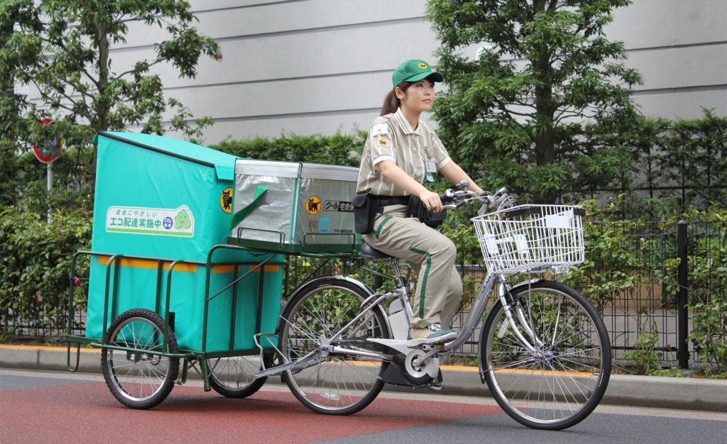 자전거택배 1024x626 일본은행, 온라인시장 확대가 소비자물가 하락 견인