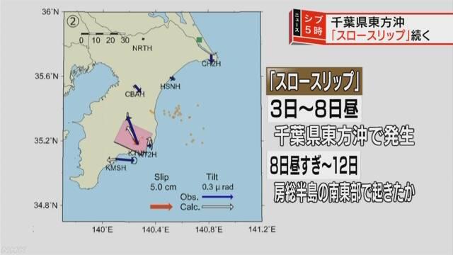 치바지진 일본 대지진의 전조? 치바현 해저에서 슬로우슬립 관측