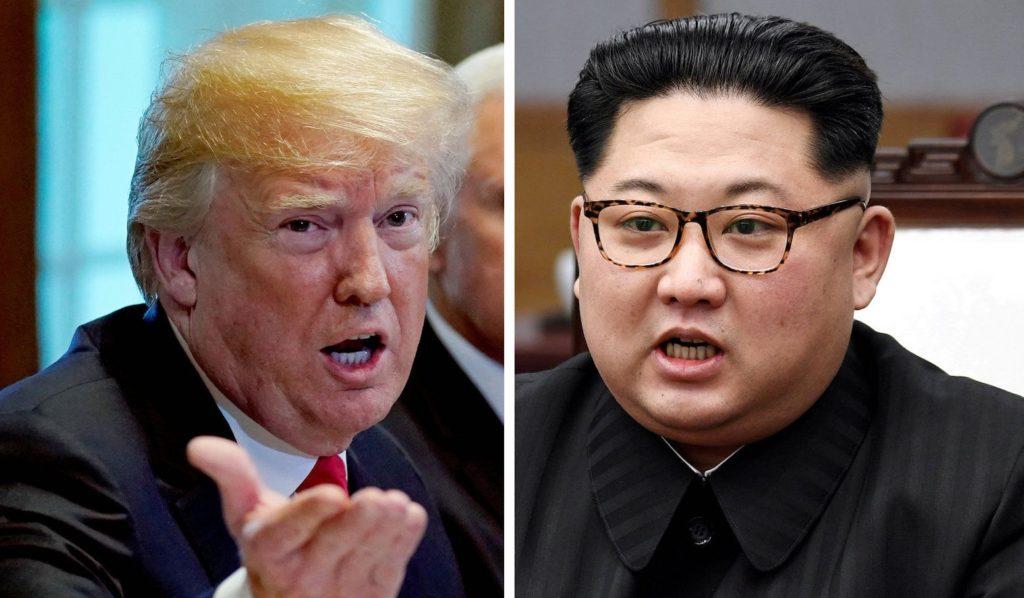 트럼프 김정은 북미회담 1024x598 싱가포르 북미정상회담까지 1주일! 대북제재 완화 주시하는 북한